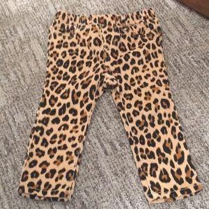 Baby Gap Leopard Corduroy Pants Sz 18-24 Months